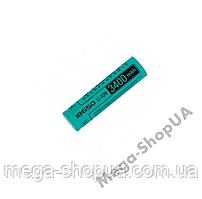 Аккумулятор Videx Li-Ion 18650 3400mAh без защиты. Элемент питания 18650. Батарейка 18650 Box/1pc