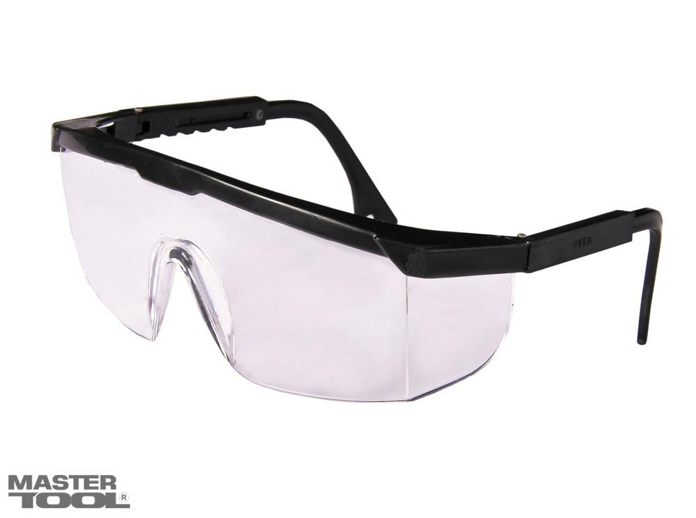 Очки защитные открытые КОМФОРТ желтые с регулируемыми дужками