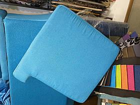 Пошив подушки сложной формы для стула
