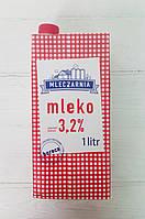 Молоко 3,2% жирности Mleczarnia 1л (Польша)