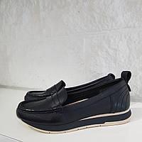 Туфлі жіночі TAMARIS Black/9-201 чорна шкіра 39