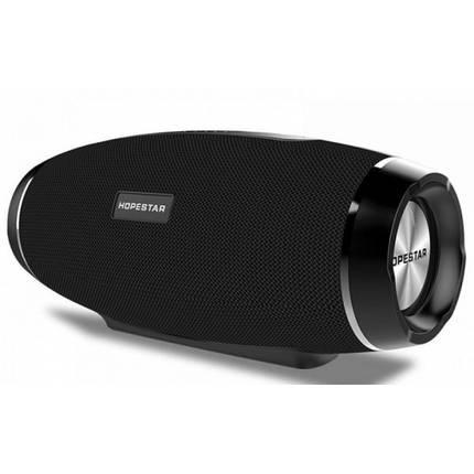 Портативная Bluetooth колонка Hopestar Original со встроенным микрофоном Чёрная (H27), фото 2