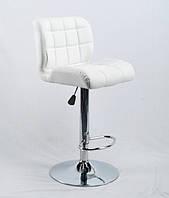 Барный стул Сохо SOHO BAR CH-BASE белый кожзам, стул визажиста