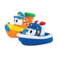 Игрушки для ванной, купания кораблики Nuby Soft Bath Boat Floaties. Оригинал