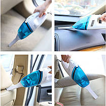 Компактный автомобильный пылесос High-power Portable Vacuum Cleaner, Пылесос в машину, Авто Пылесос, фото 2