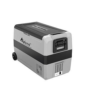 Компресорний автохолодильник Alpicool T-50. Режим роботи +20℃ до -20℃ (двокамерний) 12/24/220V