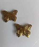 Декор  бабочка 15х13 мм, фото 1