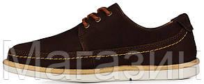 Мужские кроссовки Timberland Earthkeepers Original Тимберленд коричневые, фото 2