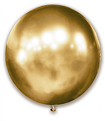 "Шар 21"" SHOW-ШОУ brilliance хром золото"