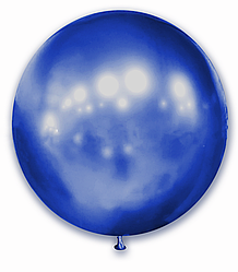 """Шар 21"""" (52 см) SHOW хром Blue (синий)"""