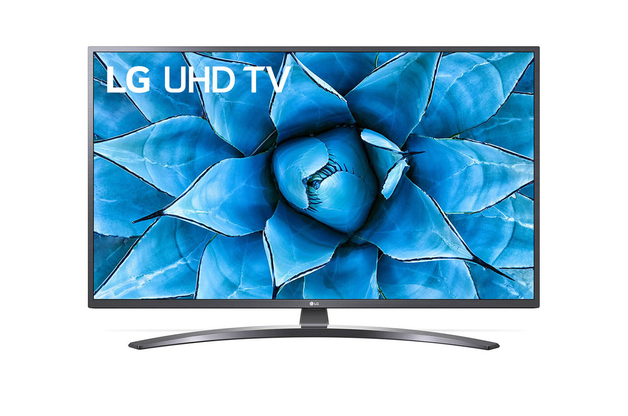 Телевізор LG 43UN74003LB (4K, Smart, IPS Panel, webOS , DTS Virtual: X, LG ThinQ AI)