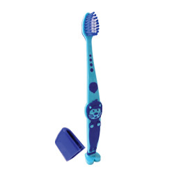 Детская зубная щетка  Eurofresh Голубая