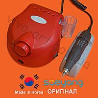 Фрезер для маникюра, комбинированного педикюра Escort 2 Pro, красный, (КОМПЛЕКТАЦИЯ НА ВИБОР) ОРИГИНАЛ