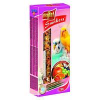 Колба Vitapol для волнистых попугаев, фрукты, упаковка 2 шт