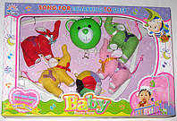 Карусель на кроватку, мягкие игрушки 699-13