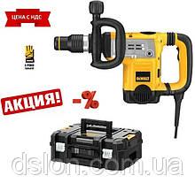 Молоток отбойный DeWALT D25831K, SDS-MAX, 1250 Bт, 13.3 Дж, 1430-2840 уд/мин, 6.1 кг, чемодан