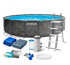 Каркасний басейн INTEX 26742 (розмір 457-122 см повна комплектація)