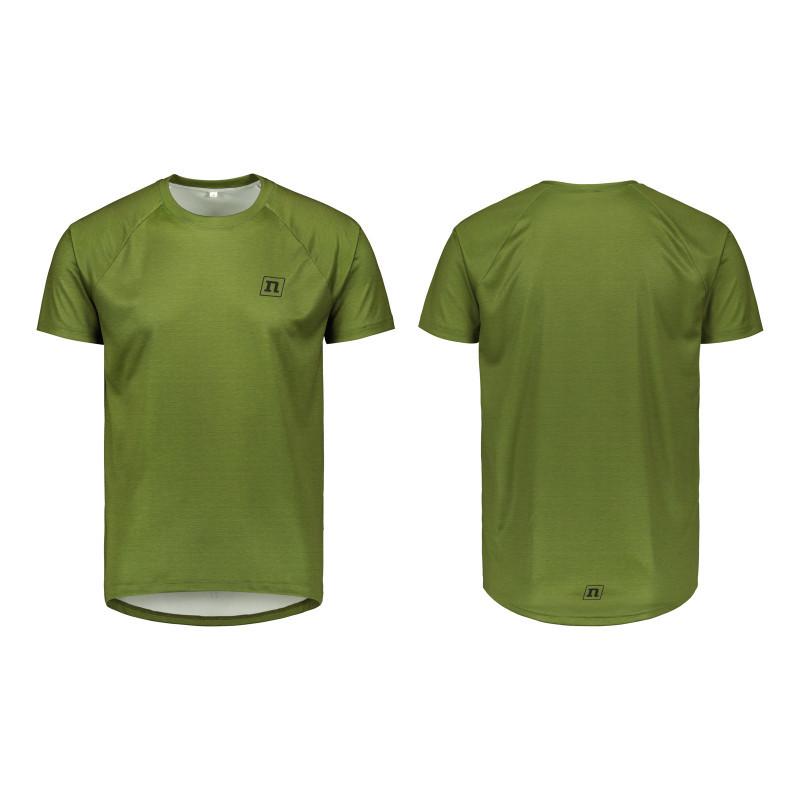 Футболка Noname WS RUN T-SHIRT UX 19 ARMY GREEN