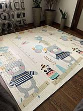 Дитячий килимок тварини/цирк XPE 200*180*1см