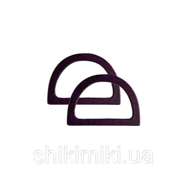 Ручки для сумок   деревянные темно коричневые