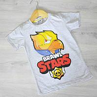 Футболка для мальчика, детская футболка  рост 128-146