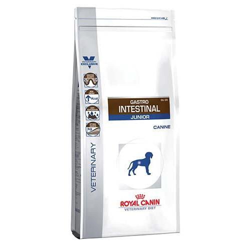 Сухой корм Royal Canin Gastro Intestinal Junior при нарушениях пищеварения у щенков, 2.5 кг
