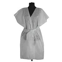 Халат косметологический одноразовый (Халат-кимоно) (без рукава)
