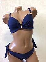Купальник женский раздельный . Polovi. 1945 синий, фото 1