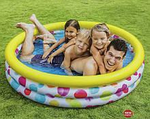Дитячий надувний басейн Intex 58449 геометрія