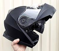 Шлем трансформер модуляр BLD чёрный матовый размер S