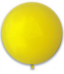 "Шар 24"" (61 см) SHOW пастель Yellow (желтый)"