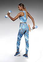 Размер M Спортивные женские легинсы BasBlack Energy (original), лосины для бега, фитнеса, спортзала