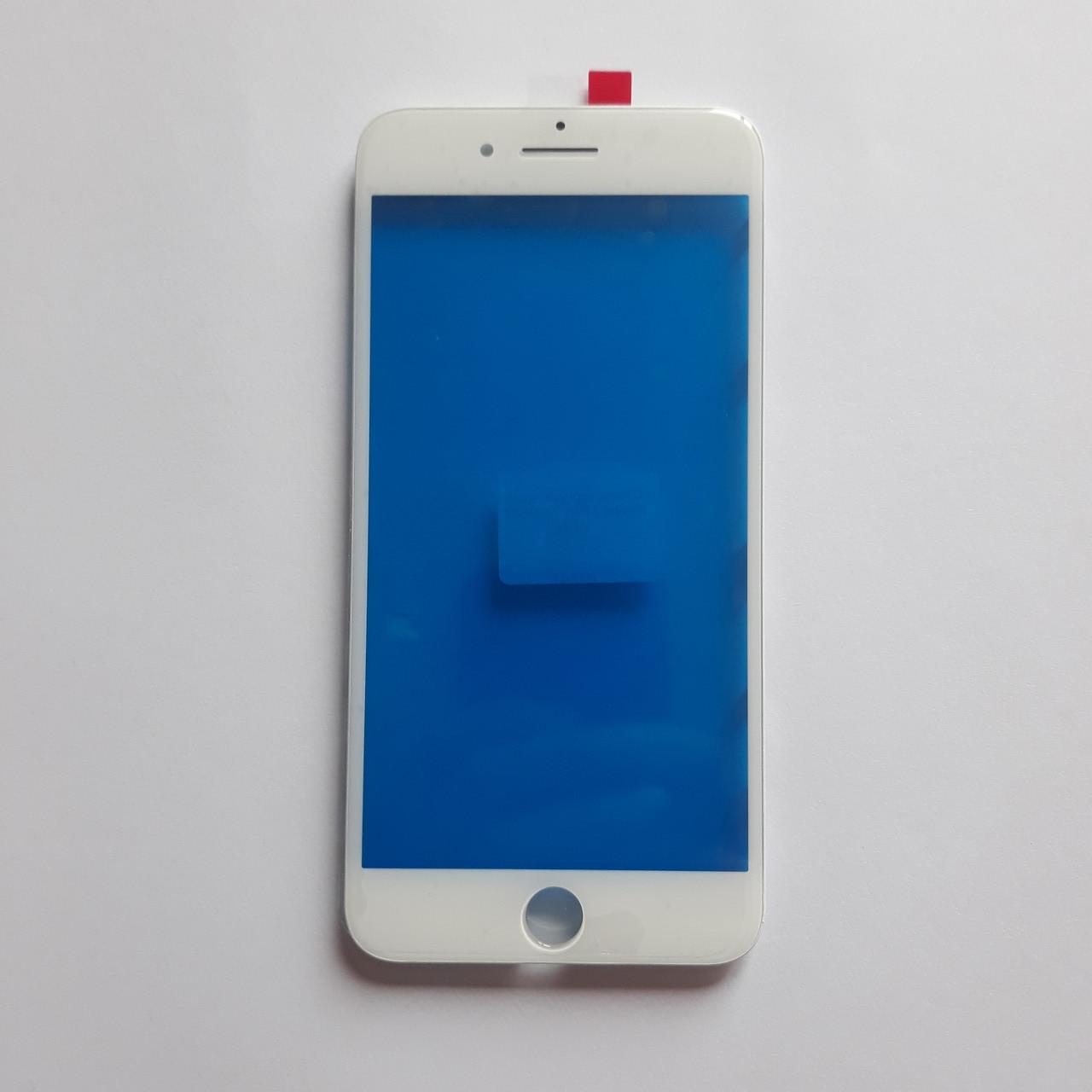 Скло корпуса Apple iPhone 7 Plus з рамкою White