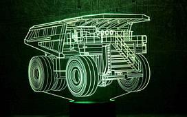 """3D светильники """"Автомобили"""""""