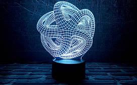"""3D светильники """"Абстракция"""""""