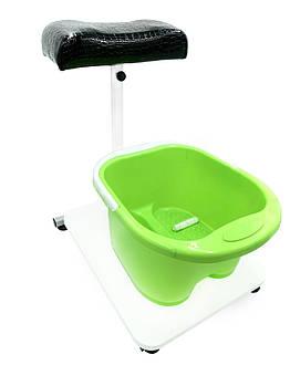 Подставка  для педикюра с встроенной  платформой для ванночки