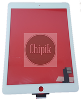 Сенсорный экран со стеклом для Apple iPad Air 2, белый