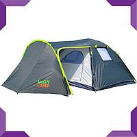 Палатка 4-х местная GreenCamp 1009, фото 1