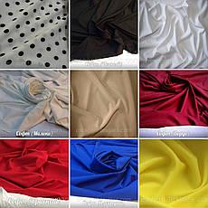Летняя блузка больших размеров из софта с удлиненной спинкой, фото 3