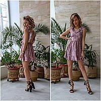 Стильное летнее платье -сарафан 2020,Платье с открытой спиной.Ткань: Софт принт Размеры: 42,44,46,48