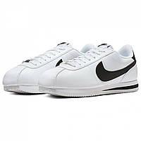 Кросівки Nike Cortez Basic Ltr S00 White/Black Оригінал, фото 1