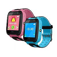 Детские умные часы с GPS F3 Смарт часы с GPS сим карта sos sim smart baby watch