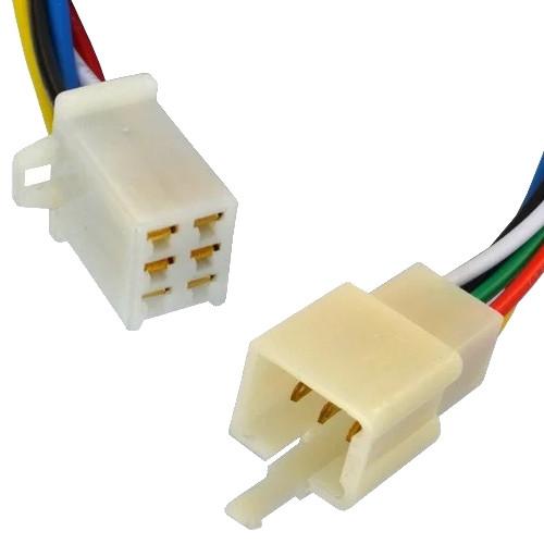 Разъём автомагнитолы 6-и конт., с кабелем