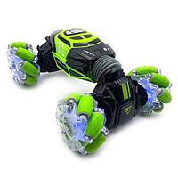 Машинка-перевертыш Skidding Hyper Leopard King с управлением жестами Зеленый