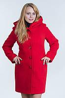Женское кашемировое пальто №17 роза (зима)