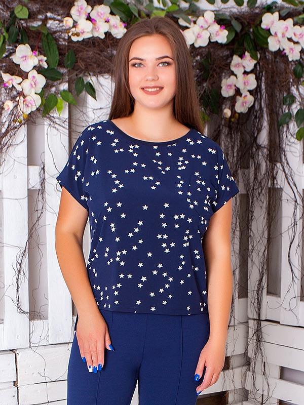 Легкая блузка больших размеров на лето разные цвета