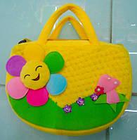 Сумочка детская с   цветочком
