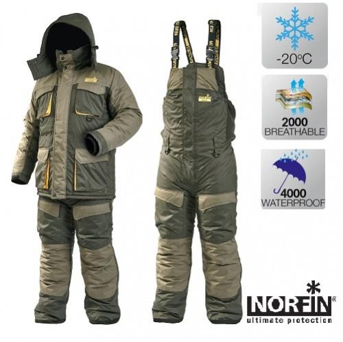 Зимний костюм Norfin ACTIVE (-20°) р.XXL