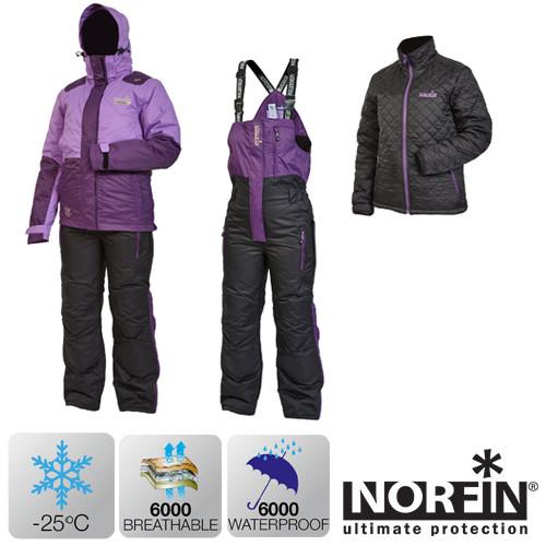 Зимний костюм Norfin KVINNA (-25°) р.XS