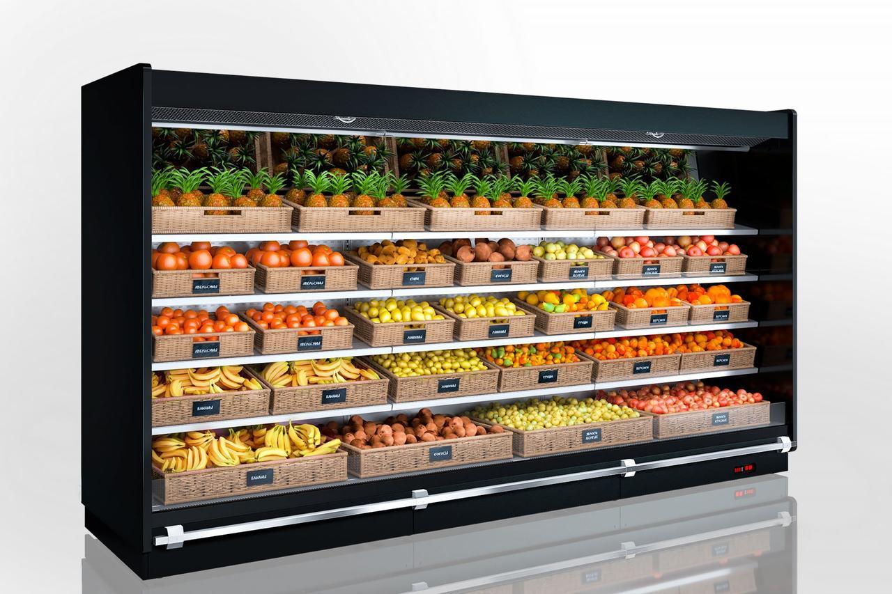 Витрины для продажи овощей и фруктов Indiana VF МV 140 VF M